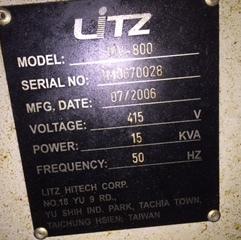 LITZ MV800 VERTICAL MACHINING CENTER 3