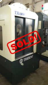 Used TRIDENT CNC DRILL TAP CENTER