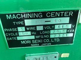 USED MORISEIKI MV40 VMC 07