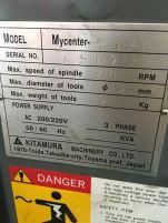 USED KITAMURA MYCENTER H630 CNC HORIZONTAL MACHINING CENTER 5