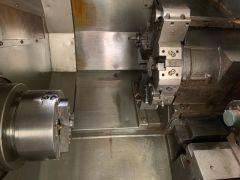USED OKUMA HL20 CNC LATHE 2