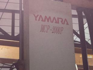 USED YAMARA MCP-2000P DOUBLE COLUMN VERTICAL MACHINING CENTER 4