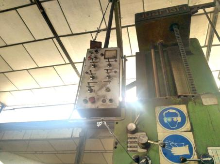 USED JUARISTI HORIZONTAL BORING MACHINE 12