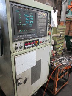 USED OKUMA MCV 20A DOUBLE COLUMN MACHINING CENTER 07