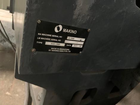 USED MAKINO S33 VMC 6