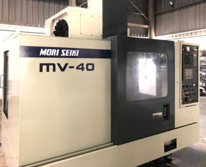 USED MORISEKI MV40 VERTICAL MACHINING CENTER 5