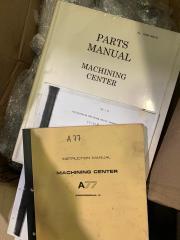 USED MAKINO A77 HORIZONTAL MACHINING CENTER Doc1