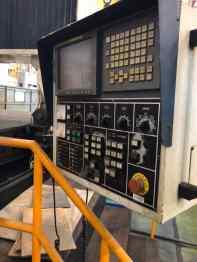 USED AWEA LP-6033 DOUBLE COLUMN VMC 2