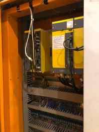 USED AWEA LP-6033 DOUBLE COLUMN VMC 4