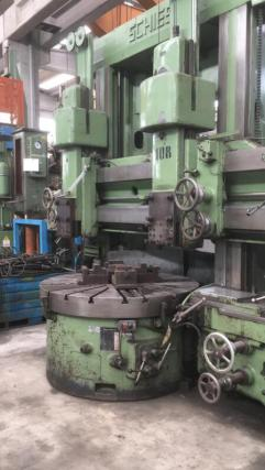 USED SCHIESS VERTICAL TURNING LATHE 1