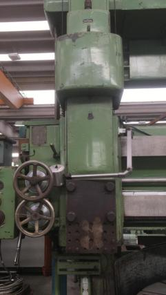USED SCHIESS VERTICAL TURNING LATHE 2