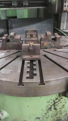USED SCHIESS VERTICAL TURNING LATHE 3