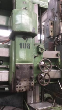 USED SCHIESS VERTICAL TURNING LATHE 4